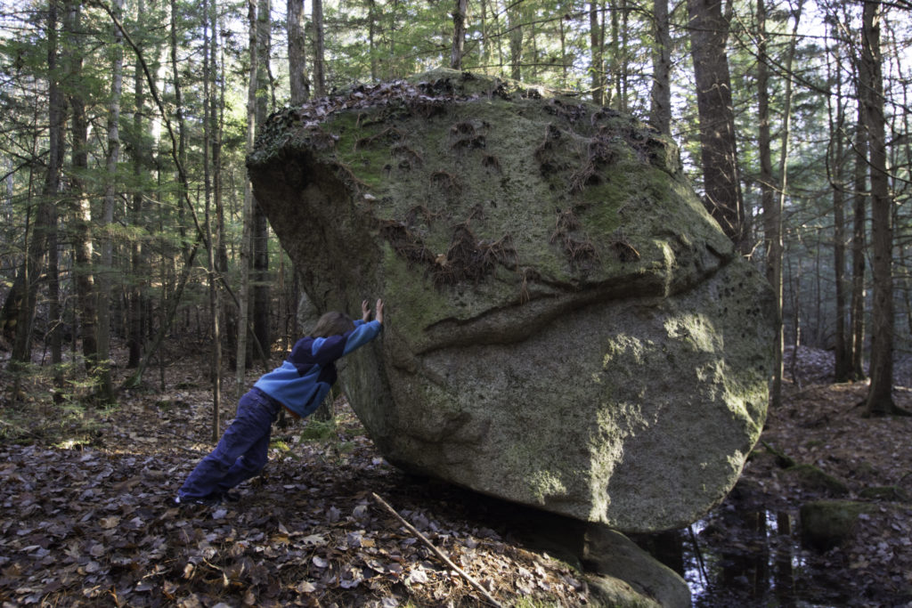 Tipping Rock with Brent