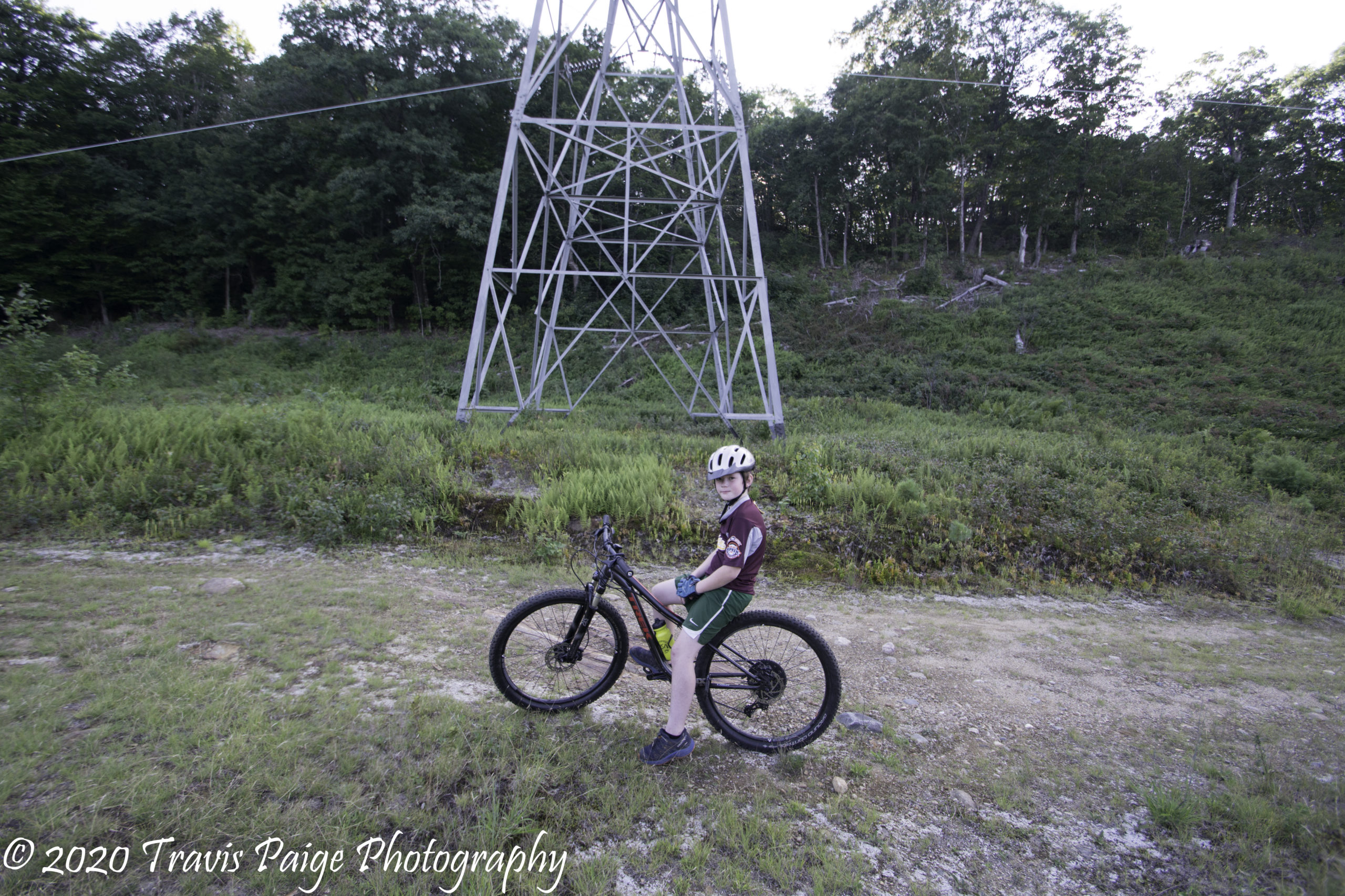 At the top of Voltage Trail-Page Hill