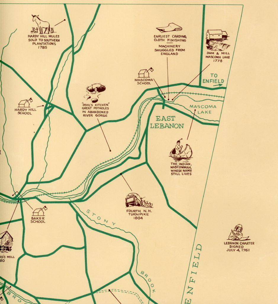 Devils's Kitchen Map